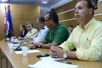Análise do processo fica por conta dos vereadores Jaime Evaristo (PSC), Dorval Pretti (PPS), Cláudio Aragão (PMDB), Manoel Bento (PT) e Fábio Dalonso (PSDB) (Divulgação/Sabrina Seibel)