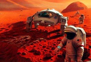 Mandar uma tripulação a Marte exige a superação de vários obstáculos: tecnológicos, psicológicos, físicos, científicos (Nasa/Pat Rawlings / SAIC)