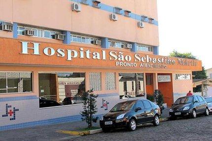 Crime ocorreu na madrugada de domingo em frente ao Hospital São Sebastião Mártir (MPRS/Divulgação)