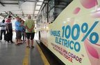 Ônibus elétrico começa a operar em Joinville (Agencia RBS/Salmo Duarte)