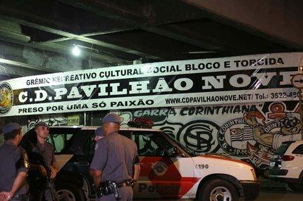 Crime foi cometido na sede da torcida organizada Pavilhão 9 (ESTADÃO CONTEÚDO/EDISON TEMOTEO/FUTURA PRESS)