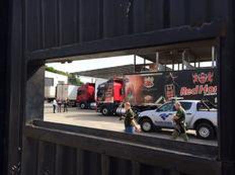 Mandados de busca e apreensão e de prisão estão sendo cumpridos na sede da empresa, no (Agencia RBS/Schirlei Alves)