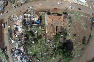População do Oeste do Estado não teve qualquer tipo de aviso sobre a aproximação de tornados na semana passada (Agencia RBS/Marco Favero)