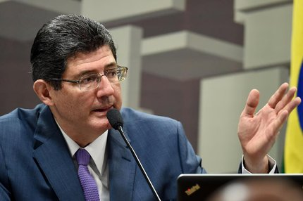 Ministro da Fazenda, Joaquim Levy, acredita que a economia brasileira voltará a crescer no segundo trimestre (AFP/EVARISTO SA,AFP)