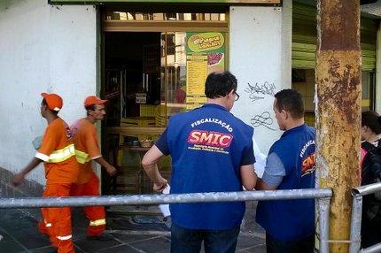 Smic fechou estabelecimentos nesta quinta-feira (PMPA/Divulgação)