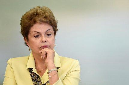 A presidente afastada, Dilma Rousseff (AFP/EVARISTO SA)