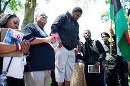 Decisão pela absolvição do policial foi recebida com protestos pacíficos em Cleveland (Getty Images/AFP/Ricky Rhodes)