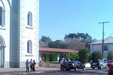 Paróquia fica na cidade de Tapera (Prefeitura de Tapera/Divulgação)