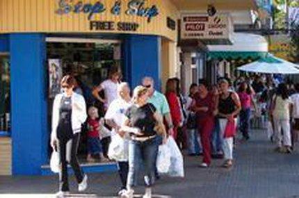 Mudança na cota assustava comerciantes brasileiros da fronteira (Agencia RBS/Duda Pinto)