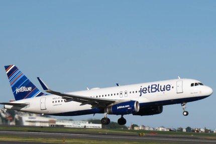 Decolagem da cidade americana será ao meio-dia de sexta-feira, com pouso no aeroporto José Martí às 15h30min (JetBlue,Divulgação/-)