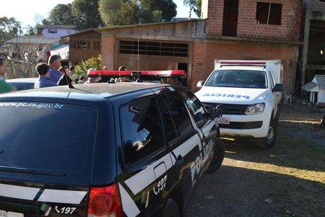 Trabalhador operava equipamento no porão de uma casa no bairro Jardim Iracema (Divulgação/Uliane da Rosa)