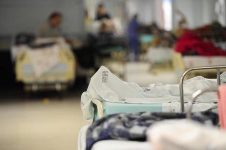 AN teve acesso ao hospital e constatou a superlotação (Agencia RBS/Salmo Duarte)