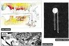Estarão à venda livros como Queria Ter Ficado Mais, ilustrado por Eva Uviedo, Desenhos Invisíveis, de Gervasio Troche, e Carnet Pornographico, de Gilmar Fraga (Reprodução/Eva Uviedo,Gilmar Fraga e Gervásio Troche)