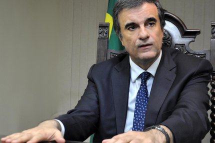 Sobre seu futuro político, Cardozo disse que pretende voltar a ser advogado e professor (Ministério da Justiça,Divulgação/Allan de Carvalho)