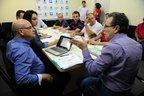 Chefe de Gabinete Afonso Fraiz falou com o sindicato na tarde desta sexta-feira (Agencia RBS/Salmo Duarte)