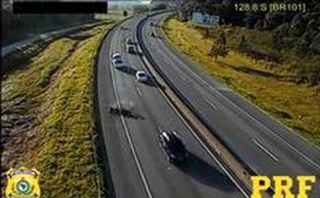 1,7 mil acidentes registrados no ano passado foram ocasionados pelo excesso de velocidade (Polícia Rodoviária Federal/Reprodução)