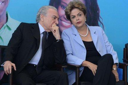 Dilma Rousseff telefonou nesta quinta-feira para Michel Temer e pediu ajuda para defender a volta do imposto (Divulgação/Antonio Cruz)