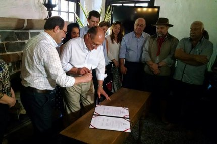 Alckmin e Sartori acertaram troca técnica entre secretarias de agricultura (Agência RBS/Cleidi Pereira)