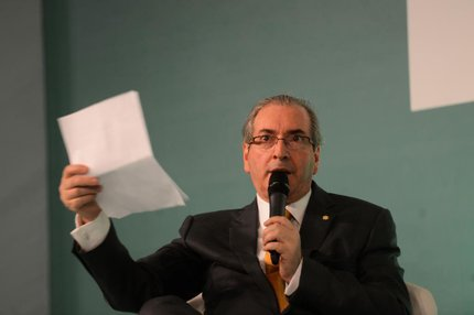 Eduardo Cunha (PMDB-RJ), presidente da Câmara dos Deputados (Agência Brasil/Elza Fiuza)