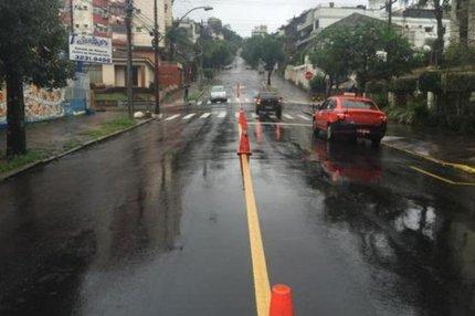 Cruzamento onde ocorreu acidente foi sinalizado pela EPTC (Agência RBS/Eduardo Cardozo)
