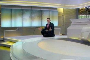 Bem à vontade! (TV Globo/Reprodução)