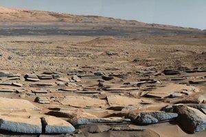 Esse é um pouco do horizonte por lá (NASA/JPL-Caltech/MSSS/AFP PHOTO)