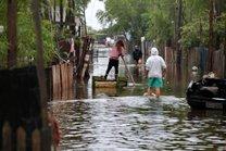 Ruas estão alagadas e afetam moradores da região das ilhas, em Porto Alegre (Agencia RBS/Carlos Macedo)