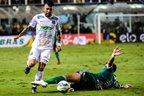 Santos venceu a primeira partida, na Vila, por 1 a 0 (ELEVEN/ESTADÃO CONTEÚDO/ALE VIANNA)