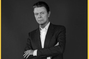 Iman foi casada com Bowie por 23 anos. (NYTNS/Elizabeth Lippman)
