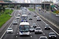Saída para o feriadão vai ter movimento intenso nas estradas (Foto: Bruno Alencastro/Agência RBS)