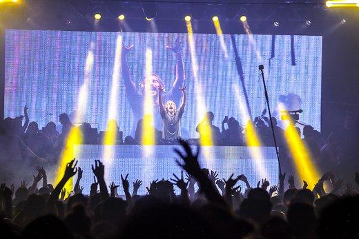 Um dos DJ's de maior popularidade no mundo se apresentou no Parador 12, em floripa nessa terça-feira (09). (Divulgação/Adriel Douglas / Divulgação)