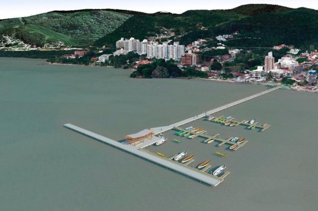 prefeitura assina contrato para a construção de trapiche em florianópolis
