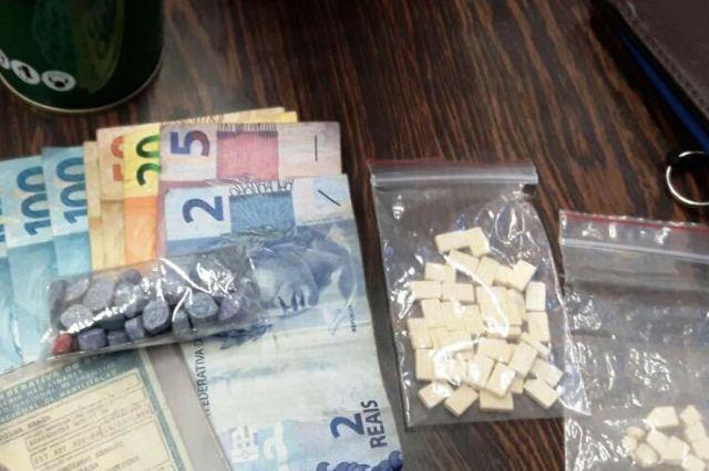 Comprimidos seriam vendidos a R$100 a unidade (DIN/DENARC - Polícia Civil/Divulgação)