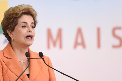 A presidente afastada Dilma Rousseff (AFP/EVARISTO SA)