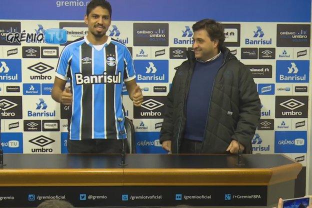 (Grêmio TV/Reprodução / Grêmio TV)