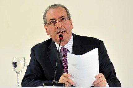 O presidente afastado da Câmara dos Deputados, Eduardo Cunha (Câmara dos deputados/Zeca Ribeiro)