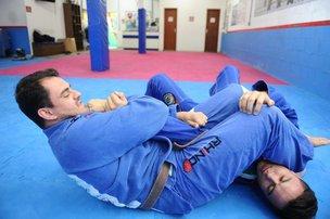 Edgar (E), treinado por Jean Feijó, é atual bicampeão da modalidade. (Agencia RBS/Patrick Rodrigues)
