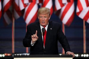 O candidato presidencial republicano Donald Trump (GETTY IMAGES NORTH AMERICA/AFP/Alex Wong)