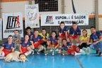 (Divulgação, Liga de Futsal Feminino de Santa Maria/Cláudia Kessler / Divulgação, Liga de Futsal Feminino de Santa Maria)
