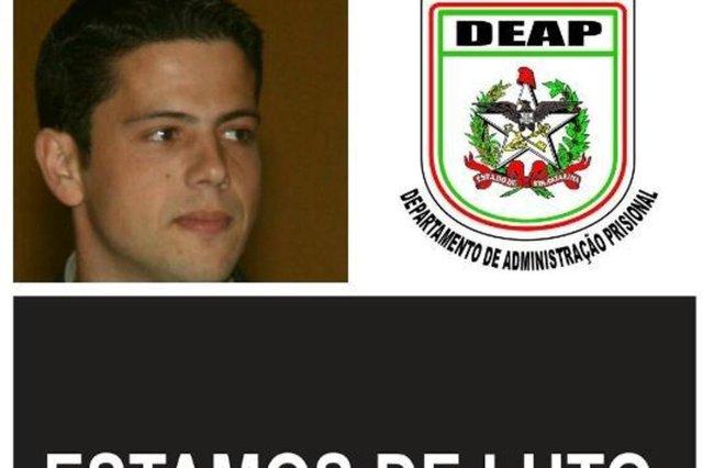 Misael Baruffi, agente morto no norte da Ilha