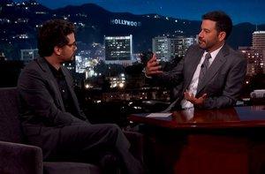 Wagner Moura e Jimmy Kimmel (Reprodução/Youtube / Reprodução)