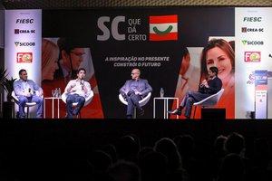 Painel ocorreu noauditório da Associação Empresarial de Criciúma (Acic) (Divulgação/José Somensi)