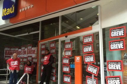 Bancários estão em greve há 20 dias, e afirmam que reivindicações não foram atendidas pelos bancos (Agencia RBS/Jocimar Farina)