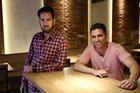 Leon Brill e Andres Busser (Agencia RBS/Carlos Macedo)