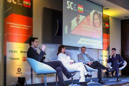 Sexto painel da série foi realizado em Lages nesta terça-feira (Divulgação/José Somensi)