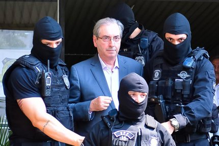 Ex-presidente da Câmara está preso pela Operação Lava-Jato (AGIF/ESTADÃO CONTEÚDO/JASON SILVA)