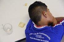Alunos estão insatisfeitos com o atual cardápio. Para muitos, é na escola que eles fazem as principais refeições do dia (Agencia RBS/Mateus Bruxel)