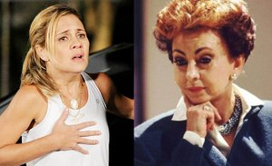 Carmen Lúcia, de Avenida Brasil, eOdete Roitman, de Vale Tudo (Reprodução/Reprodução / Reprodução)