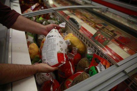 Produtos como peru e bruster têm no Natal a melhor época do ano para vendas (Agencia RBS/Tadeu Vilani)