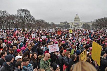 Estimativa é de que até 500 mil pessoas possam participar da manifestação na capital americana (AFP/Andrew CABALLERO-REYNOLDS)